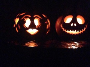 our mr and mrs jack-o-laterns