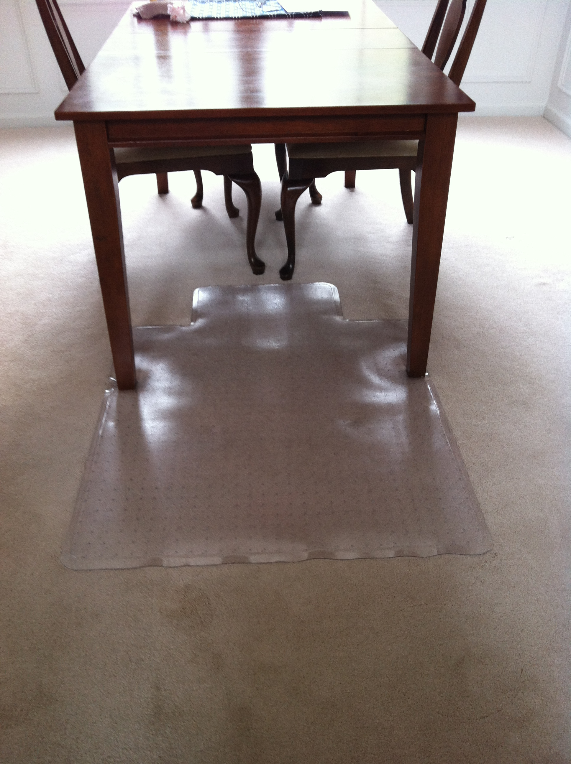 Toddler Proofing Your Dining Room Carpet