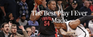 Patrick Patterson: My Best Play