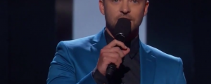 "Justin Timberlake's ""I Heart Radio"" Award Acceptance Speech: Advice to Those Who are ""Different"""