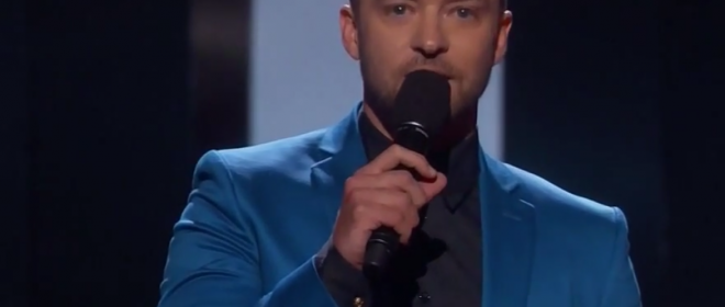 """Justin Timberlake's """"I Heart Radio"""" Award Acceptance Speech: Advice to Those Who are """"Different"""""""