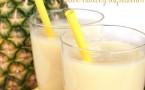 Yummy Piña Colada Protein Shake Recipe !