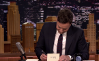 Thank You Notes From Jimmy Fallon